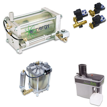 condensate drain valves and oil water separators